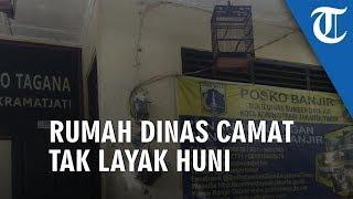 Rumah Dinas Camat Kramat Jati Tak Layak Huni Dialih Fungsi Jadi Basecam PJLP