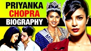 Desi Girl ▶ Priyanka Chopra Biography | Wedding | Nick Jonas | Bollywood & Hollywood Actress