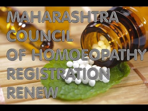 HOMOEOPATHY COUNCIL CERTIFICATE REGISTRATION ...
