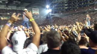 Kenny Chesney with Kid Rock Spread The Love Tour Detroit