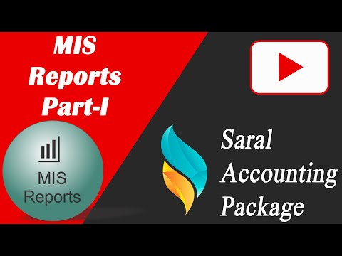 MIS Reports Part I | Monthly Sales Purchase Summary | Party Wise Sales & Purchase ( Qty / Amount )