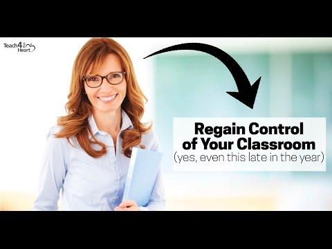Regain Control of Your Classroom NOW: Classroom Management ...
