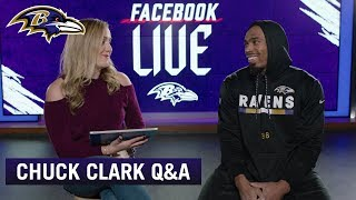 Chuck Clark On Playing With Earl Thomas, Choosing 36 | Ravens Q&A