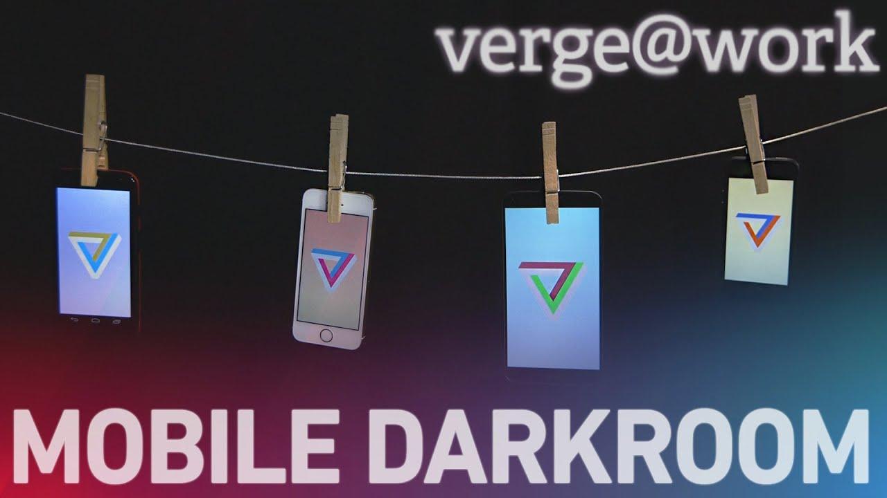 Verge@work: developing in the iOS darkroom thumbnail