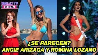 ¿se Parecen? Las Odiosas Comparaciones Entre Angie Arizaga Y Romina Lozano