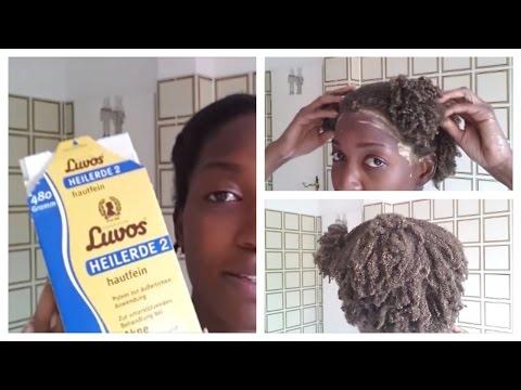 Rr die Maske für das Haar