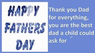 Father's day Greeting Card: Father's days wishes, SMS, greetings, E-card, quotes, Whatsapp Video-2