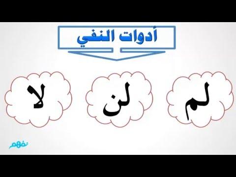 أدوات النفى - اللغة العربية - الصف الرابع الابتدائي - الترم الثاني - المنهج المصري - نفهم
