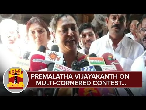 Premalatha-Vijayakanth-on-Multi-Cornered-Contest-in-Assembly-Polls--Thanthi-TV