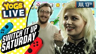 SWITCH IT UP SATURDAYS - Super Mario Maker 2 w/ Zylus & Mousie - 13/07/19