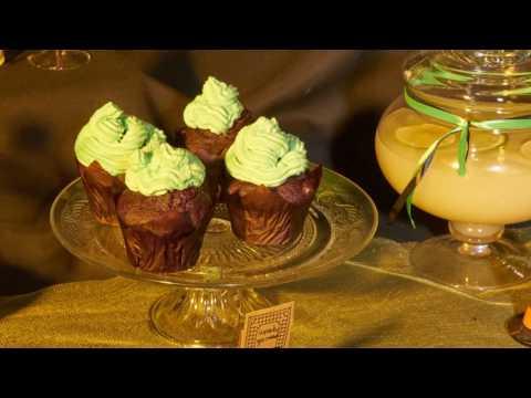 A receita dos cupcakes das bruxas