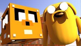 Minecraft - CUBO DE LUCKY BLOCK DE HORA DE AVENTURA - MINI GAME PVP