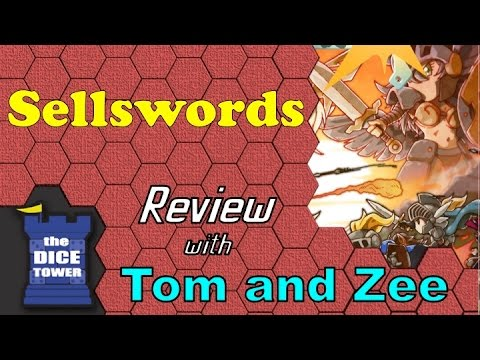 Dice Tower Reviews: Sellswords