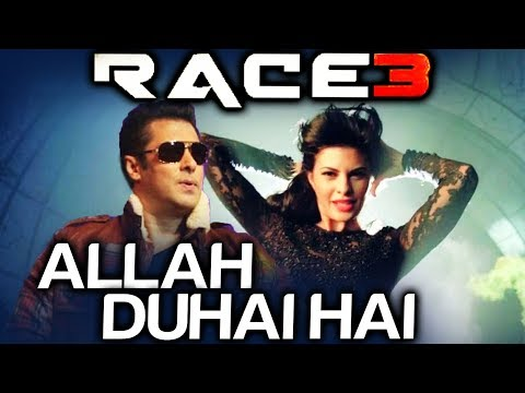 race 3 first song titled allah duhai hai salman khan jac