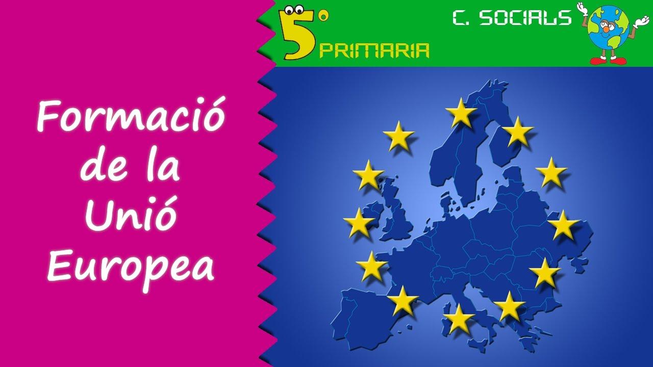 Formació de la Unió Europea. Socials, 5é Primària. Tema 5