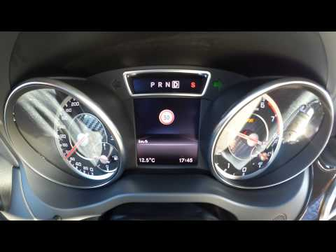Mercedes GLA 45 AMG Edition1 Race Start Launch Control 0to100 km/h 0to60 mph