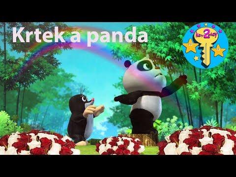 Krtek a panda - Duhová zahrada & Creative for Kids #krtekapanda #krteček #duhovazahrada