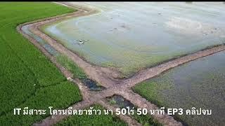 โดรนฉีดยานาข้าว 50 ไร่ NAC DRONE ระบบหัวฉีด GPS จุ 17 ลิตร นา 50 ไร่ ฉีด 50 นาที เสร็จ EP.3