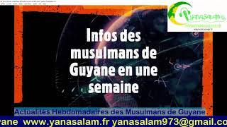 Actualités Hebdomadaires des Musulmans de Guyane 31 janvier 2021