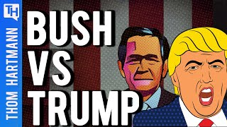 Is Donald Trump An Even Worse President Than George W. Bush?
