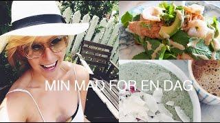 VLOG  Hvad Carla Mickelborg Spiser På En Dag + Vinder Af Sidste Uges Giveaway!