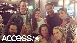 'Saved By The Bell' Cast Celebrates Over 30 Years Of Friendship At Dinner Reunion!