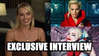 Margot Robbie on Terminal and Harley Quinn's return in Birds of Prey - Exclusive Interview