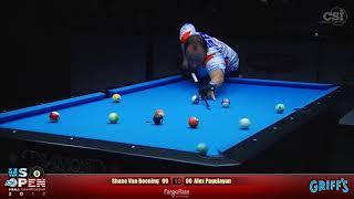 2018 US Open 8-Ball Championship: Shane Van Boening vs Alex Pagulayan (Final Match)