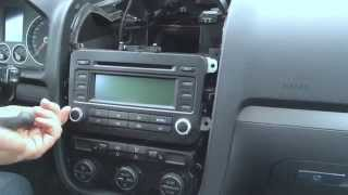 Golf 5 Radio Und Navi Ausbauen / Golf MK 5 Rabbit