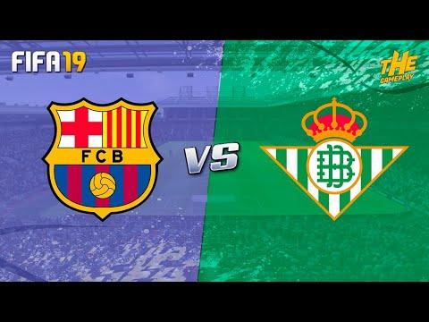 FIFA 19 | FC Barcelona vs Real Betis - La Liga - Full Match & Gameplay