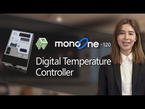 [monoone-120] Introducing easy & safe temperature controllersa temperature controller made in Japan