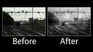 Lightroom Advanced Black and White Editing Tutorial - The Power of Local Contrast and Clarity!