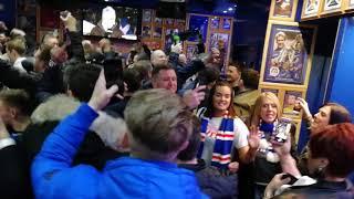 Rangers Fans Sing Josh Windass In Louden Tavern Ibrox