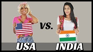 AMERICA VS. INDIA | Part 3 | Rickshawali