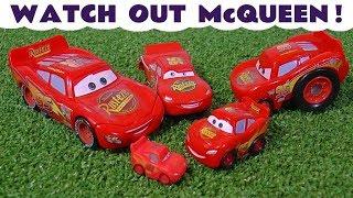 Disney Cars Toys Lightning McQueen Cars 3 race stories with Hot Wheels superhero cars TT4U
