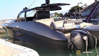 2019 Midnight Express 60 Open Center Console Boat - Walkthrough - 2019 Miami Boat Show