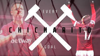 EVERY CHICHARITO GOAL FOR WEST HAM
