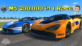 Earn M$ 200,000 in 1 Race
