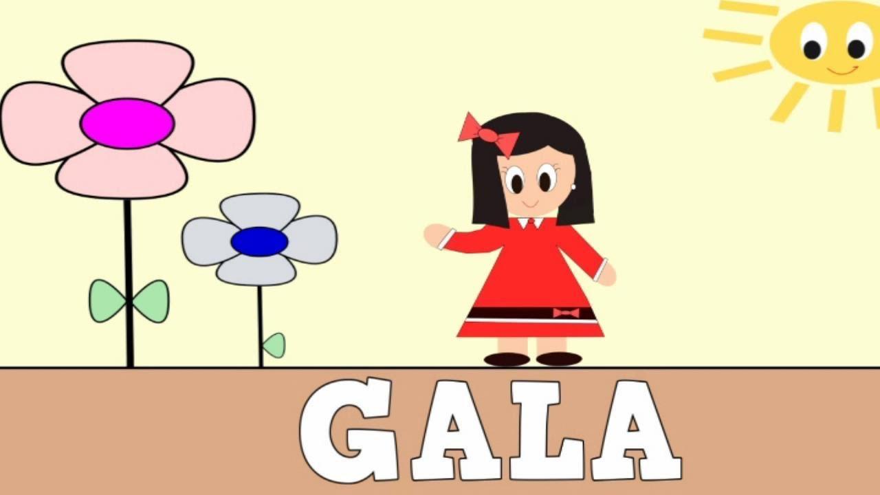 Aprender a Leer y Escribir GALA - Vídeos educativos para Niñosy Bebés - Paty y Poty