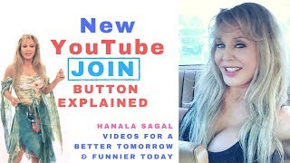 New YouTube JOIN / Sponsor Button Explainer Video by Hanala Sagal
