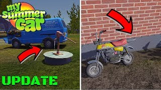 MOPED RACK - WATER WELLS LOCATIONS - My Summer Car Update #12