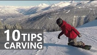 #3 Snowboard intermediate – Tips for carving turns