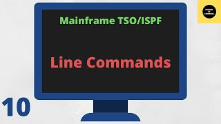 TSO ISPF - Line Commands Tutorial for IBM Mainframe