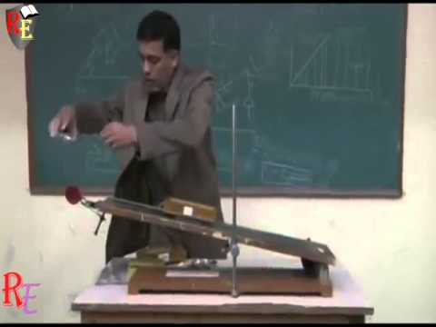 To Find The Coefficient of Friction (µs) Between  Two Surfaces
