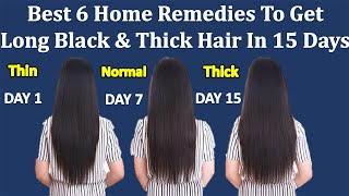 100% Effective Ayurveda Tips To Get Long And Thick Hair In (15 Days)   Get Long Hair Naturally