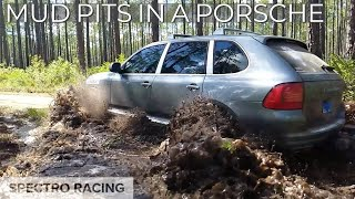 Porsche Cayenne Turbo OFF-ROADING?!? Mud, Dirt & Water Fording!!