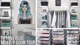 Makeup Room Tour 2017 | Daisy Marquez