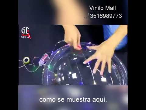 globos luminosos cristal gigantes con leds Argentina