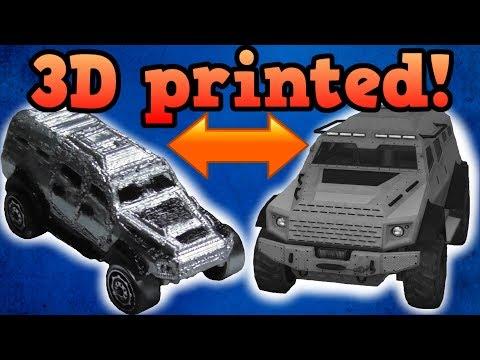 3D printing a Grand theft auto online Insurgent!