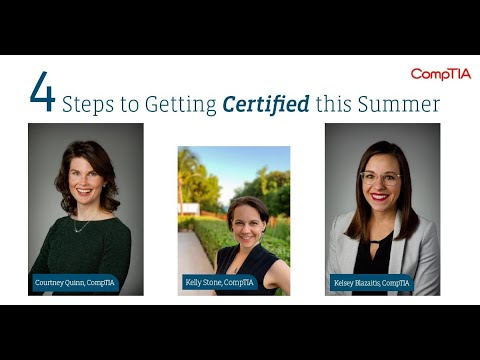 4 Steps to Getting Certified this Summer - YouTube